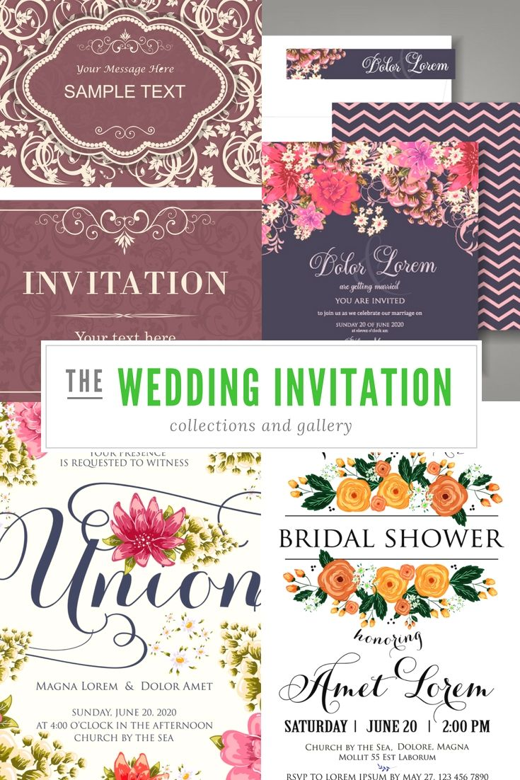 Free Wedding Invitation Cards Samples Go Planning Your Wedding Event Invitat Wedding Invitations Examples Free Wedding Invitation Samples Wedding Invitations