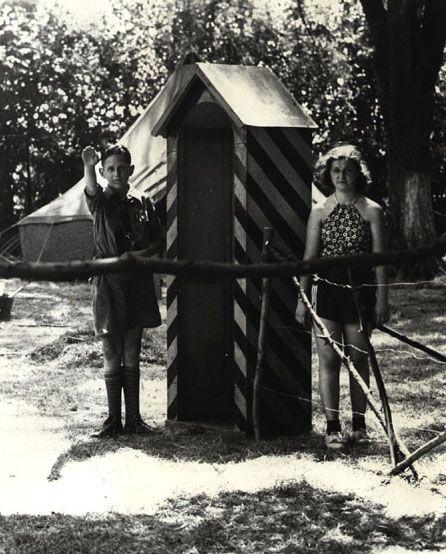 German American Bund's Camp Siegfried on Long Island.  Camp where Bennet sent Jane