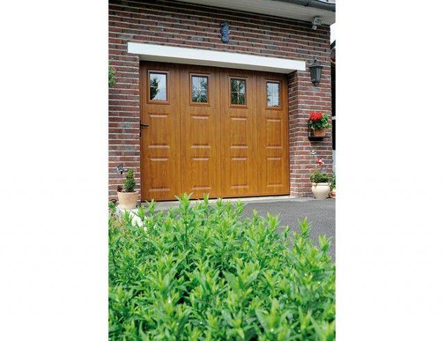 Les 25 meilleures id es de la cat gorie porte de garage - Porte de garage ouverture laterale motorisee ...