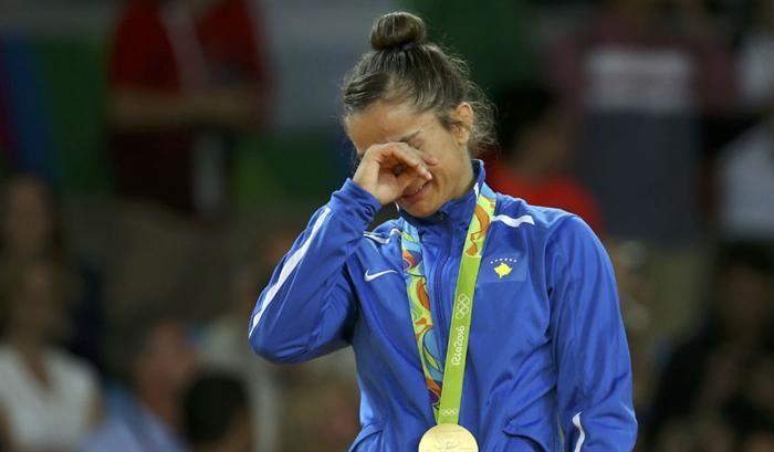 Majlinda Kelmendi, Kosovo (Jogos Olímpicos 2016)