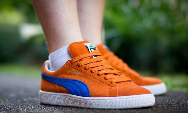 Puma Suede Orange/Purple - Tia