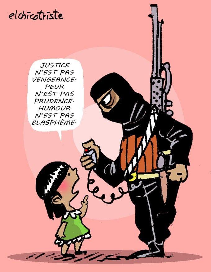 Elchicotriste (Espagne) Des dessins pour dénoncer l'horreur - Edition du soir Ouest France - 16/11/2015