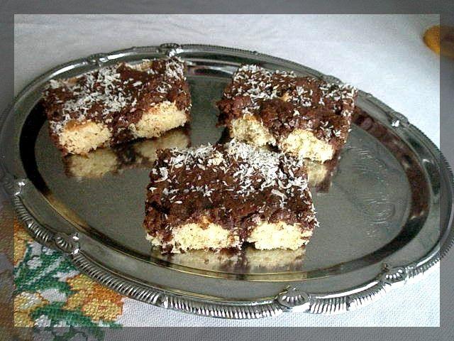 Kokosové řezy | Blog Ivany a Zdeňka