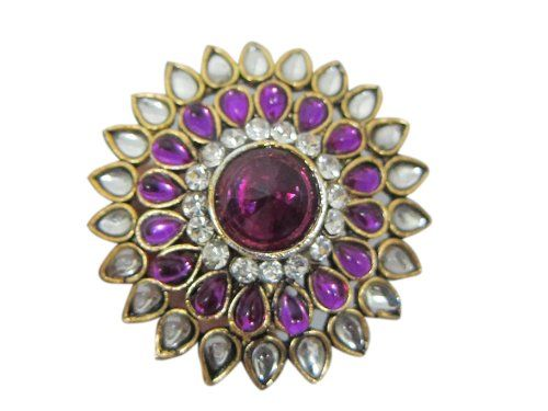 Purple Kundan Jodha Akbar Adjustable Ring Party Wear Jewelry Mogul Interior,http://www.amazon.com/dp/B00F151VYS/ref=cm_sw_r_pi_dp_P1fDsb1EB54ANY4Z