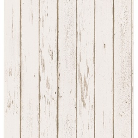 """wooden"" wallpaper for the bedroom."