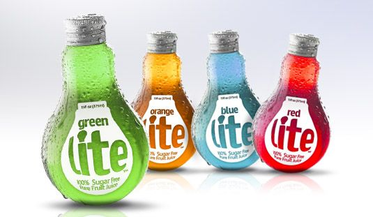 Great design and great colors for this sugar free fruit juice. PD