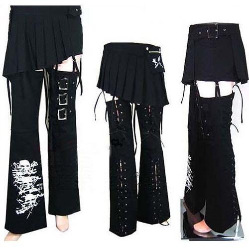Gothic Punk Clothing | Unique Trendy Punk Gothic Clothing Skirts Pants Shorts Mens Womens SKU ...
