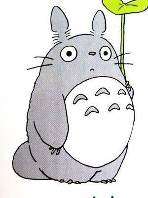 スマホ壁紙に☆ ,トトロのかわいいイラスト画像
