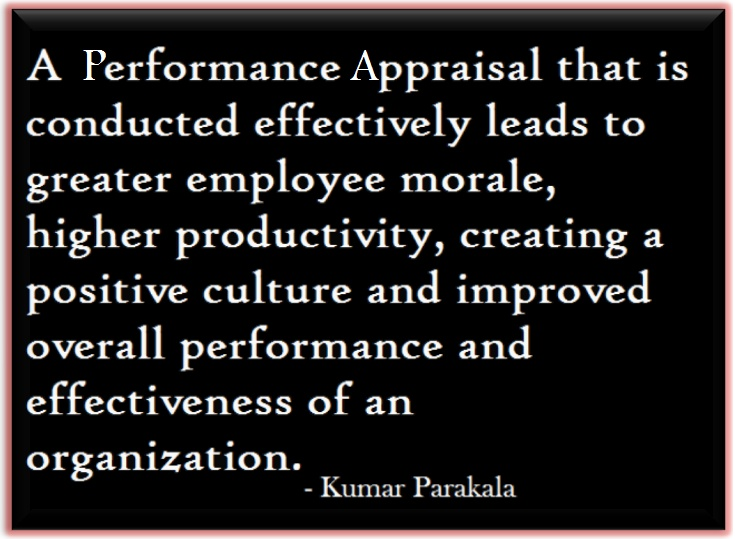 performance appraisal to improve performance and