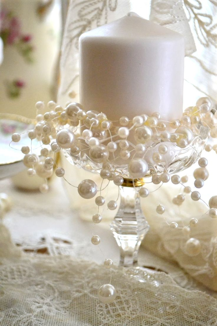 25 best ideas about pearl decorations on pinterest letra you are beautiful pearl wedding - Wall decoration with pearls ...