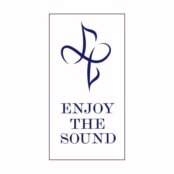 #logo #music #sounds #blue #typo