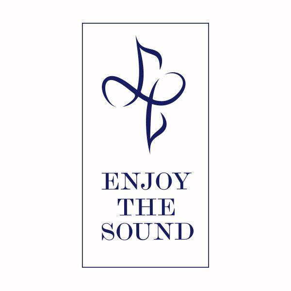 #logo #music #sounds #blue #typo
