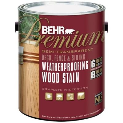 Behr Semi Transparent Redwood Naturaltone Color Of Deck And Playset Home Details
