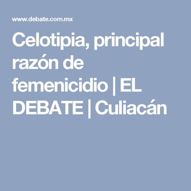 Celotipia, principal razón de femenicidio | EL DEBATE | Culiacán