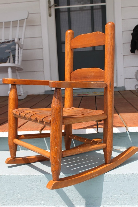...  Pinterest  Rocking chairs, Childs rocking chair and Vintage