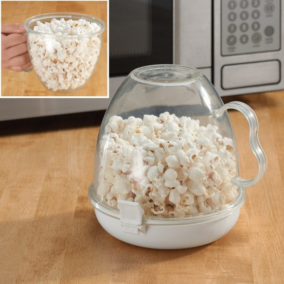 Handled Microwave Popcorn Maker - Small Appliances & Accessories - Kitchen - Walter Drake