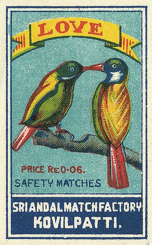 Love safety matches (India)