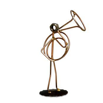 Sousaphone Metal Figure