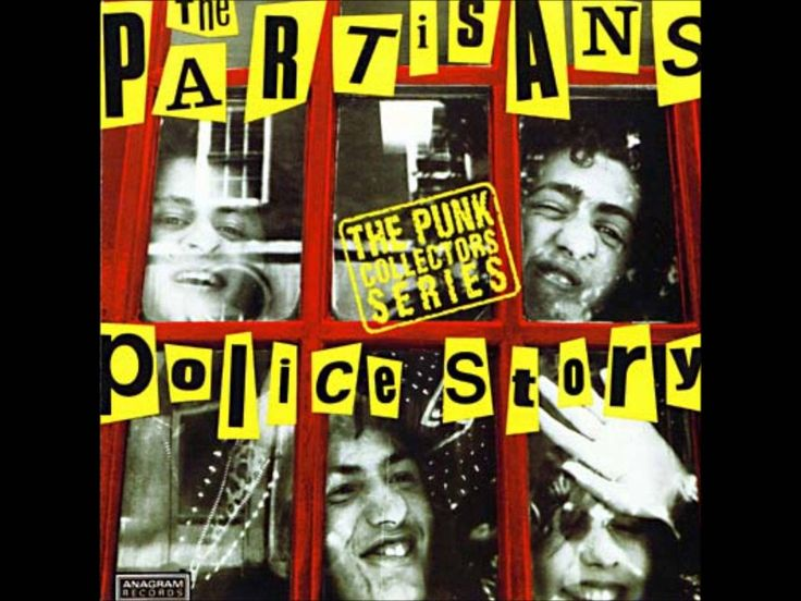 The Partisans No future punk oi! label  Original release 1983