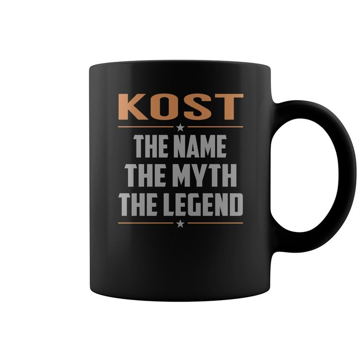 KOST The Name The Myth The Legend Name Mugs #Kost