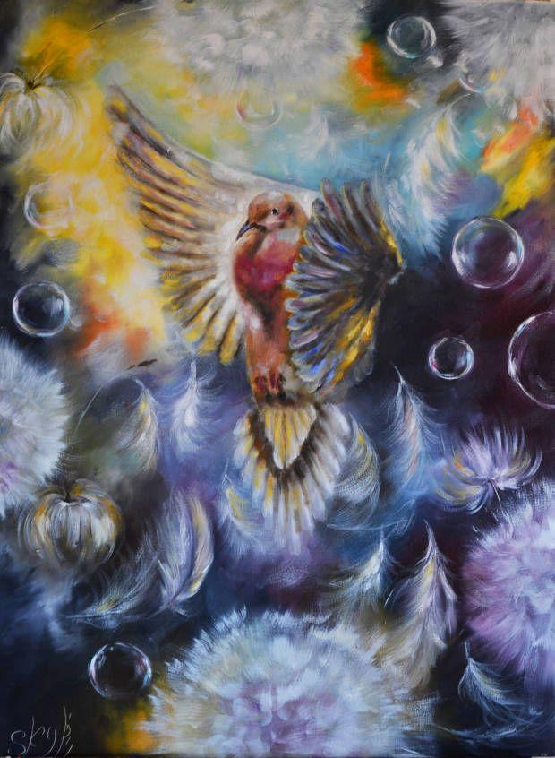 """Duch Święty"" (50х70sm) Sky Perl"