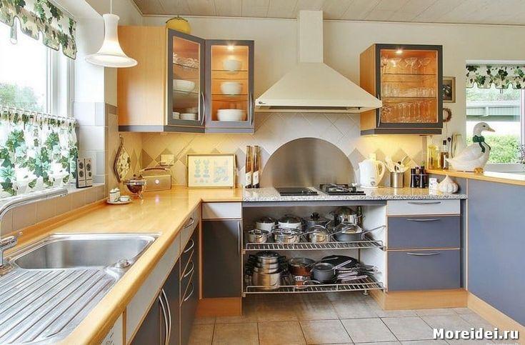 В каком стиле оформить дизайн кухни на даче? | Chayikofskiy.ru