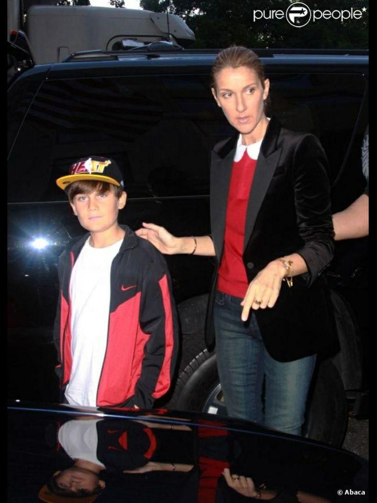 Celine Dion & son
