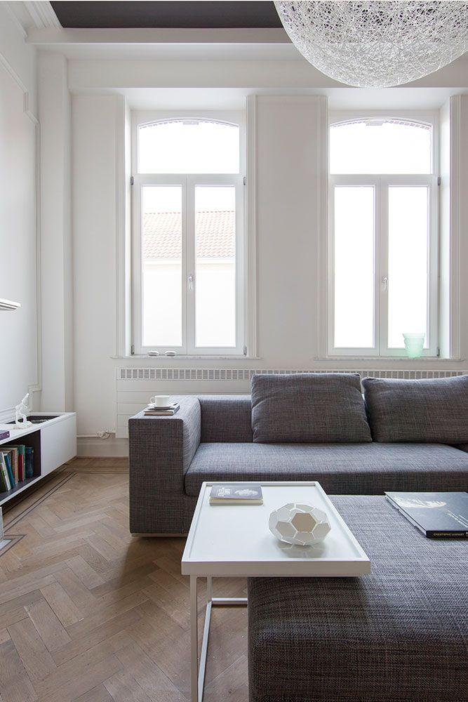 townhouse renovation interior design by Alexander Hugelier www.beeldpunt.com photography by Valerie Clarysse