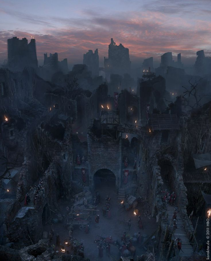 Imaginary Westeros