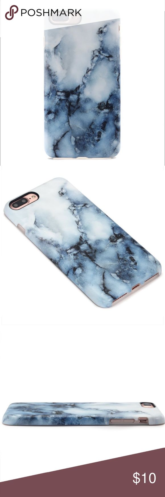 GOLINK iPhone 7 Plus Case, Blue Marble Print White / Blue Marble Print. Case fits iPhone 7 Plus, 5.5inch. Made by GOLINK. In-Mould Print Technology. Slim-Fit. Anti-Scratch. Anti-Finger Print. Flexible TPU Makes It Easy to Attach and Remove. ****note this print is Matte, no shine****I purchased from Amazon but decided not to use. New w/original package. Accessories Phone Cases