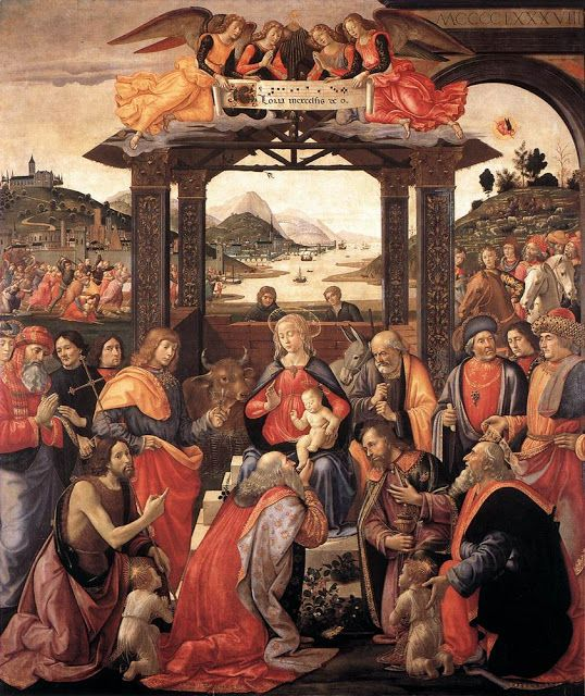 Domenico Ghirlandaio (Italian artist, 1449–1494) The Adoration of the Magi. from It's About Time: Epiphany