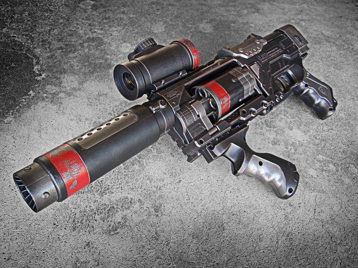 Nerf Spectre Steampunk SWAT by meandmunch.deviantart.com on @deviantART