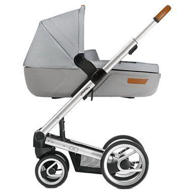 mutsy Kombi-Kinderwagen Igo, urban nomad off white, Gestell silver