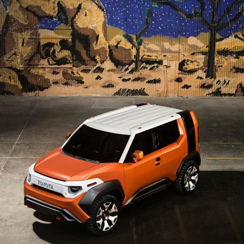 Toyota's FT-4X concept is sporty and ready to hit the road.