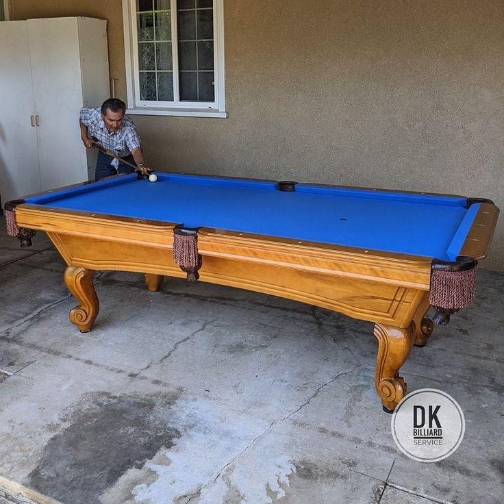 8 foot murrey pool table installation in santa ana