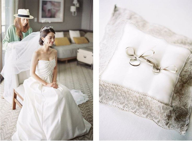 Photography: Christine Clark  #海外ウエディング #ハワイウエディング #ハワイ #結婚指輪 #ブシュロン