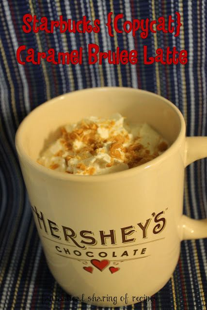 #Starbucks Caramel Brulee Latte {copycat} - make this fabulous #drink at home