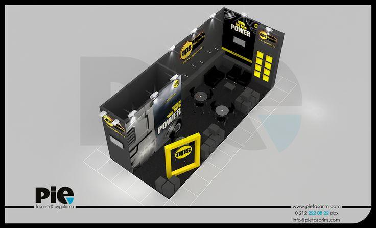 Automechanika Fuarı ''APS PİSTON'' Stand Tasarımımız