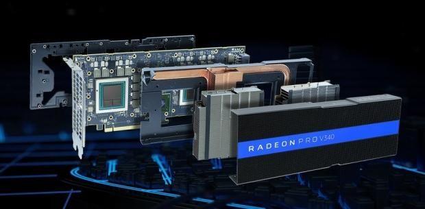 Amd Unveils Dual Vega Gpu Card 32gb Hbm2 Passively Cooled Graphic Card Cloud Gaming Amd