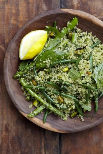 Quinoa & Herb Salad recipe on www.nomu.co.za