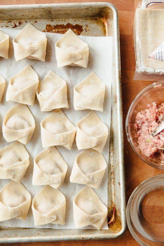 How To Fold Wonton Dumplings