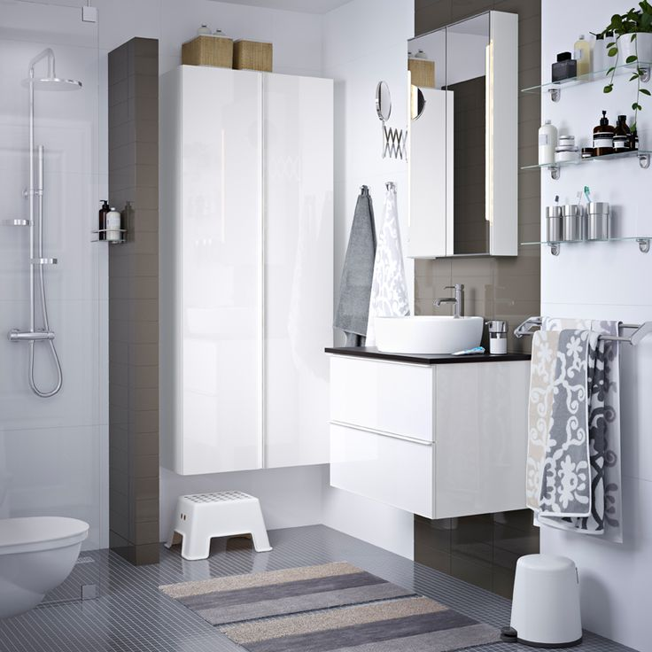 137 best IKEA Badezimmer - Spa images on Pinterest | Bathroom ...