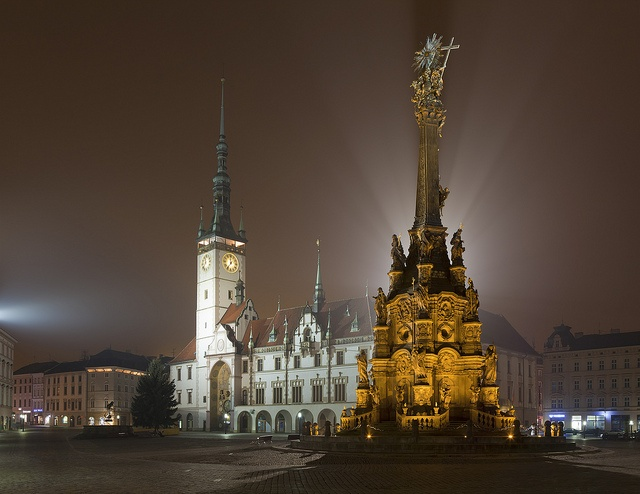 Olomouc (Czech Republic). 'Olomouc was a real find: it's a nice scale and well preserved. Czechs do public spaces, such as the town hall square, really well. The Archdiocesan Museum was superb, especially the glittering treasury.' http://www.lonelyplanet.com/czech-republic/moravia/olomouc