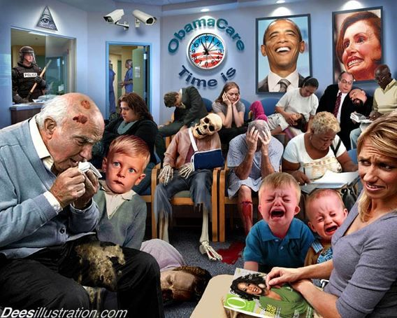 Image result for david dees obamacare