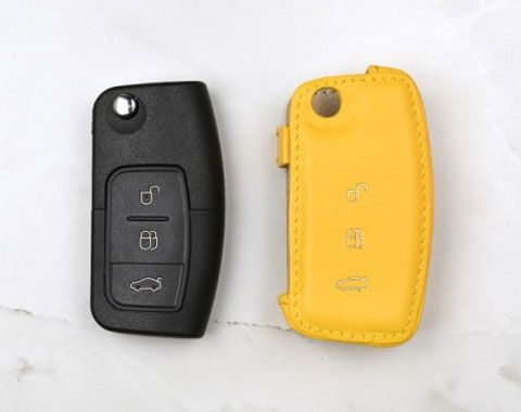 Coaster Ford Focus Bespoke Leather Key Covers Leather Key Key