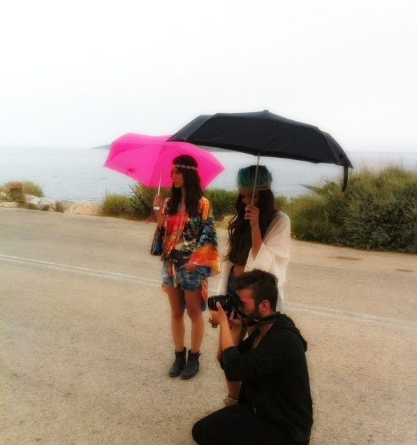 It doesn't matter if it rains! You just have to keep your Summer spirit UP, just like we did!