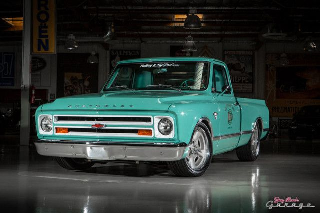1967 Chevy C10 She may look like just a well-kept classic, but thanks to Holley Performance Products, this truck boasts modern performance and reliability!