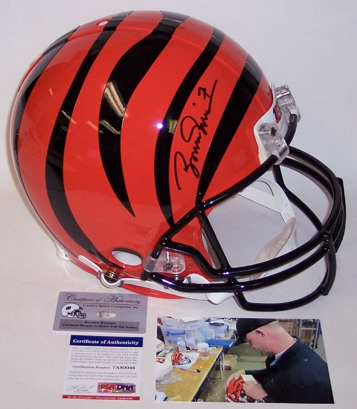 Boomer Esiason - Autographed Official Full Size Riddell Authentic Proline Football Helmet - Cincinnati Bengals - PSA/DNA