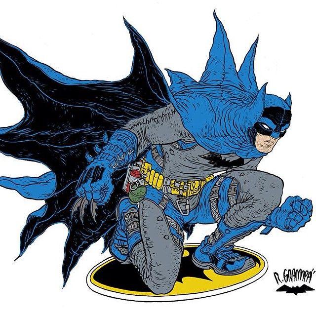 Batman - color reference. #batman