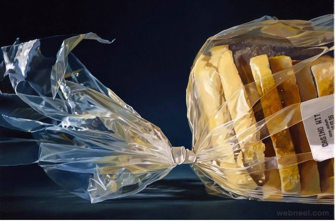 Hyper Realistic Oil Paintings by Dutch Artist Tjalf Sparnaay